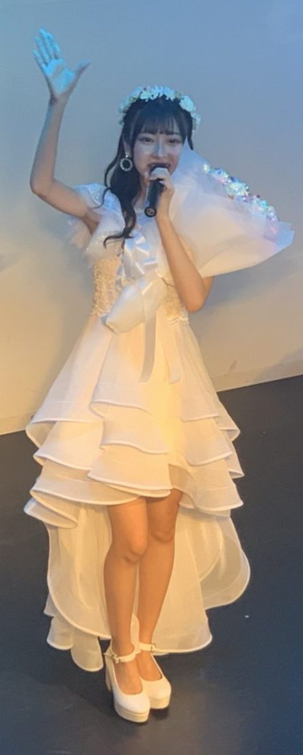 idol FES 美月梨花さん生誕祭の衣装♪